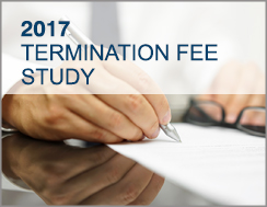 2017 Transaction Termination Fee Study